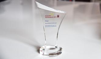 Gewinner Hessischer Tourismuspreis 2015: Großer Erfolg für unseren Kunden.