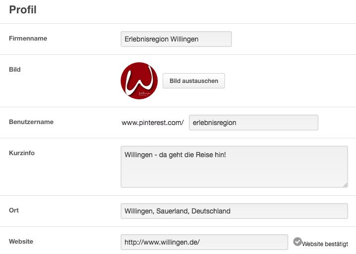 Y-SIte_Pinterest-Einstellungen_Profil-Infos